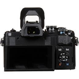 Olympus OM-D E-M10 Mark III Mirrorless Micro Four Thirds Digital Camera (Body Only, Black)