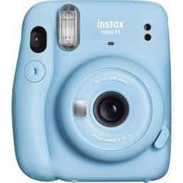 Fuji Instax Mini 11 - Sky Blue - 20 Pack Film Bundle