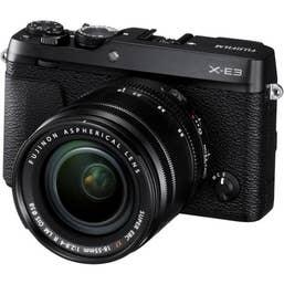 Fujifilm X-E3 Mirrorless Digital Camera with 18-55mm Lens (Black)