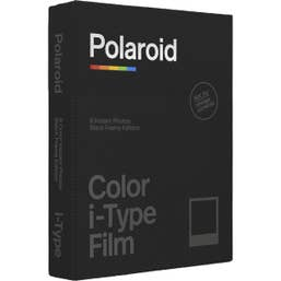Polaroid Colour Film for i-Type - Limited Edition Black Frame Edition