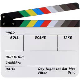 Dot Line Color Clapboard