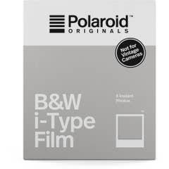 Polaroid Originals Black & White i-Type Instant Film (8 Exposures)