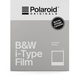 Polaroid Originals Black & White i-Type Instant Film (8 Exposures)