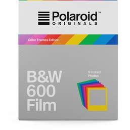 Polaroid Originals Black & White 600 Instant Film (Color Frames Edition, 8 Exposures)