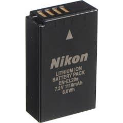 Nikon EN-EL20a Rechargeable Lithium-Ion Battery Pack (7.2V, 1110mAh)