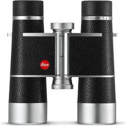 Leica 7x35 Trinovid Binocular (Silver, Leather)