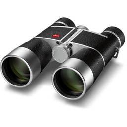Leica 8x40 Trinovid Binocular (Silver, Leather)