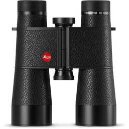 Leica 10x40 Trinovid Binocular (Black, Leather)