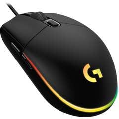 Logitech G203 LIGHTSYNC Gaming Mouse (Black)