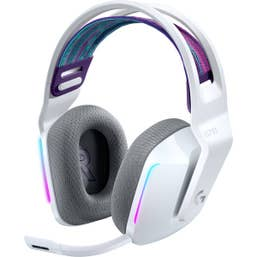 Logitech G733 Lightspeed Wireless RGB Gaming Headset (White)