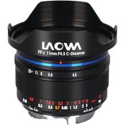 Laowa 11mm f/4.5 FF RL - Leica M (Black)