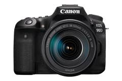 Canon EOS 90D Body Super Kit with EFS18-135USM Lens featuring no-crop 4K UHD 25/30P movie recording, 45-point AF system and 10fps 32.5MP stills.