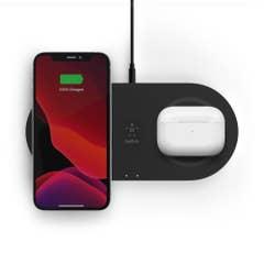 Belkin Boost Charge Dual 15W Wireless Charging Pads Black - WIZ008auBK