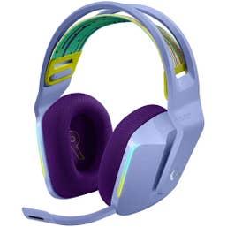 Logitech G733 Lightspeed Wireless RGB Gaming Headset (Lilac)