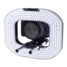 LEDGO 332 LED Macro Photography & Video Ring Light incl. Batteries and Charger
