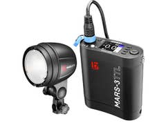 Jinbei MARS 3 portable TTL Battery Flash Kit for DSLR