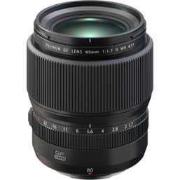 Fujifilm GF80mm F1.7 R WR Lens