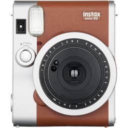 Fujifilm Instax Mini 90 Neo Brown Classic Instant Camera (84616)