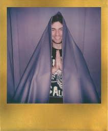 Polaroid originals 600 - Gold Frame