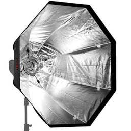 Jinbei Quick 150cm Octagonal Umbrella Soft Box Bowens S Type Mount