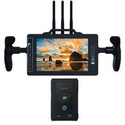 SmallHD 703 Bolt V-Mount Directors Bundle with Core SWX V-Mount 98wh Nano Battery