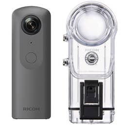Ricoh Theta V Kit with TW-1 Underwater Housing