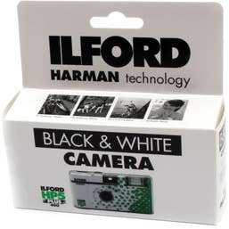 Ilford HP5 Plus Single Use Camera with Flash 27 Exposures