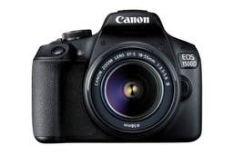 Canon EOS 1500D with EF-S18-55 III lens
