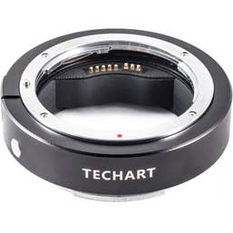 Techart PRO Canon EF Lens to Fujifilm GFX Autofocus Adapter