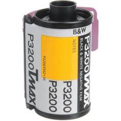 Kodak TMZ 135-36 T-Max P3200 B&W Print Film, 36 Exposure