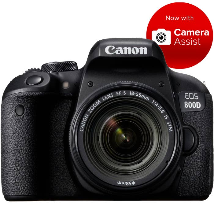 Canon EOS 800D with EF-S 18-55mm f/4-5.6 IS STM Lens Kit