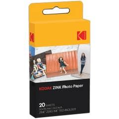 "Kodak 2 x 3"" ZINK Photo Paper (20 Sheets)"