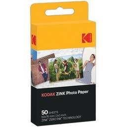 "Kodak 2 x 3"" ZINK Photo Paper (50 Sheets)"