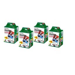 Fujifilm Instax Mini Picture Format Instant Film (80 Photo Pack)