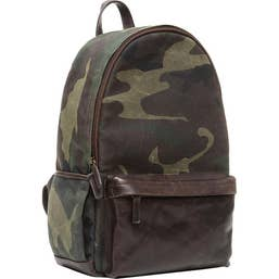 ONA The Clifton Camera and Everyday Backpack (Camouflage)