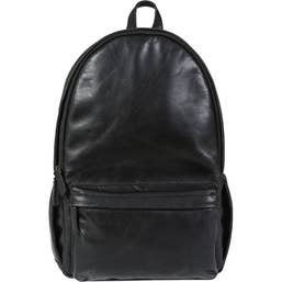 ONA The Clifton Camera and Everyday Leather Backpack (Black)