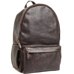 ONA The Clifton Camera and Everyday Leather Backpack (Dark Truffle)