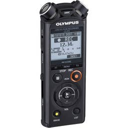 Olympus LS-P4 PCM Recorder with Bluetooth (8GB + microSD Slot)
