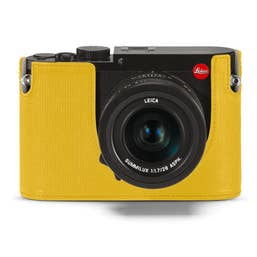 Leica Q (Typ 116) Camera Protector -  Leather Yellow