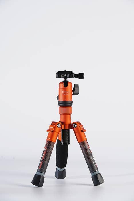Fotopro X-Aircross Mini Carbon Fiber Tripod - Orange