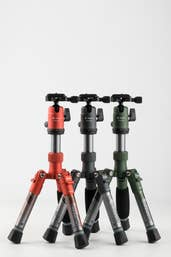 Fotopro X-Aircross Mini Carbon Fiber Tripod - Grey
