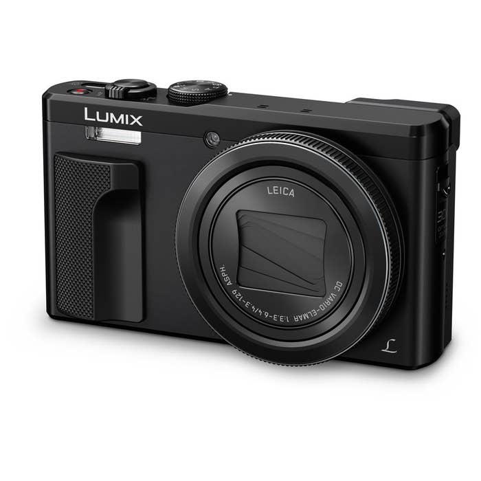 Panasonic DMC-TZ80 Digital Compact Camera - Black