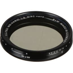 B+W XS-Pro 72mm ND Vario Filter