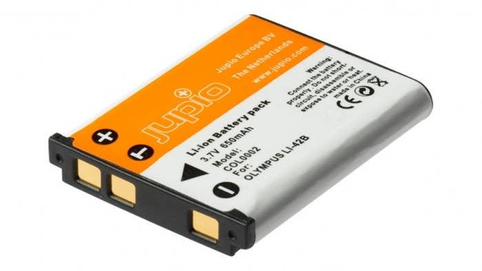 Jupio Olympus LI-40B 650mAh Battery
