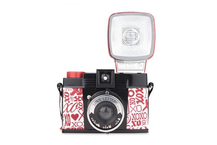Lomography Diana F+ & Flash Love Letters