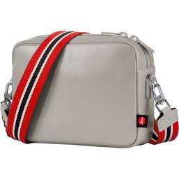 Leica Andrea Leather Handbag (Cemento)