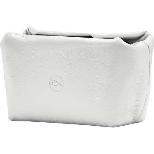 Leica Leather Magnetic Closer Soft Pouch (White)
