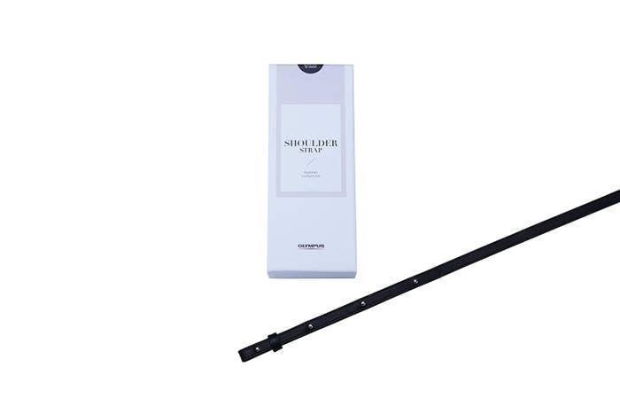 Olympus Thin Leather Strap - Black Like My Dress
