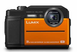 Panasonic Lumix DC-FT7 Compact Camera - Orange