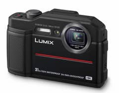 Panasonic Lumix DC-FT7 Compact Camera - Black